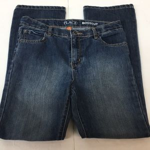 EUC Place Bootcut Jeans Size 12 Kids Girl's